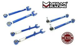 Megan 6pcs Rear Camber + Toe + Trailing Arms For 88-92 Toyota Cressida
