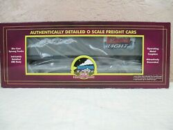 Mth 20-98605 Coors Light Flat Car W/48and039 Trailer O Scale