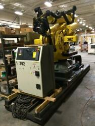 FANUC M-900iB700 Robot With R-30iB controller and 15ft track