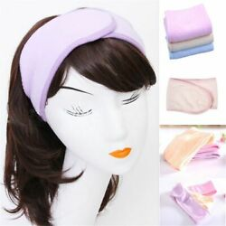 Adjustable Wrap Head Band Make Up Hair Band Salon SPA Facial Hairband
