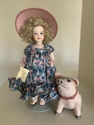 Wendy Lawton To Market, To Market Porcelain Doll New In Box