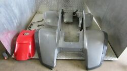 Fenders Tank Cover Mud Flaps Front And Rear Right Left Yamaha Warrior Yfm350 405
