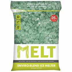 Snow Joe MELT25EB-PLT MELT 25 Lb. Bag Premium Enviro-Blend Ice Melt w CMA - 100