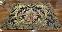 English 19th Century Weave Table Mat Or Table Cloth With 19th Century Trim