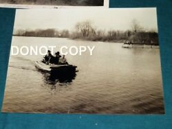 9204,rare Wwii Orig Photo And Documents Raft Building Ashland Oh Eagle Rubber Co