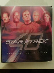 Star Trek 40th Anniversary 2006 Rittenhouse Trading Cards Master Set - Costumes!