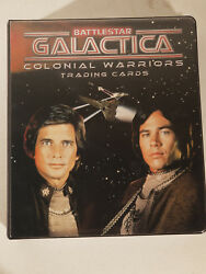 BATTLESTAR GALACTICA COLONIAL WARRIORS NEAR MASTER SET AUTOGRAPHS COSTUMES ECT+