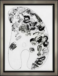 Jim Dine Original Etching Hand Signed Modern Artwork Abstract Palette Painting