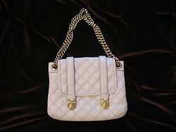 Marc Jacobs Collection 'Mary' Bag 'Beige' Quilted Design - Made in Italy HTF