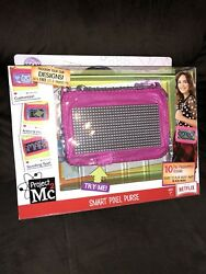 Scrolling Text Purse, Project Mc2 Smart Pixel, Led Light, Ios And Android, Handbag