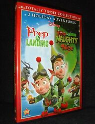 Disney's • Prep And Landing/naughty And Nice Dvd, 2012 New-open•no Scratches•usa