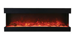 Amantii 72-tru-view-xl – 3 Sided Electric Fireplace Multi Color Lets Make A Deal