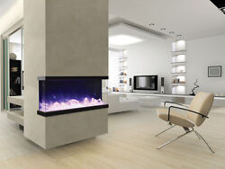 Amantii 50-tru-view-xl Andndash 3 Sided Electric Fireplace Multi Color Lets Make A Deal