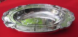 1948 Remembrance Pattern 13 Fruit Center Bowl By 1847 Rogers Silver Plated