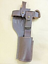 German Wwi Mauser C-96 Broomhandle Holster Rig For Stock - Reproduction
