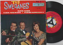 Alice Babs Neumann Asmussen The Swe-danes Vol 2. Swedish Ep 45ps 1960.