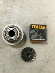 3850937 3852402 Volvo Sx/omc Lower Gear Set 18/26 Includes New Bearing