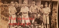 Ww2 Japanese Original Photo Of Young Japanese Soldier Collectible Picture