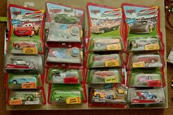 Disney Cars Lot Sdcc Mater Chase Cars Mcqueen Race O Rama Jerry Battery