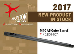 Action Army B06-007 One Piece Bull Barrel For Tokyo Marui M40a5 Made In Taiwan
