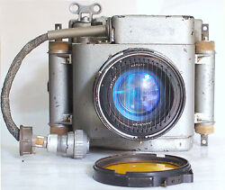 Ultra Rare Russian Arial Camera With Uranus-27 2.5/100 Mm Lens War Time Vintage