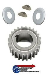 Genuine Timing Crank Pulley Gear Sprocket And Guide Kit - For R32 Gts-t Rb20det