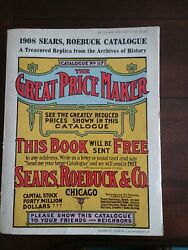1908 Sears Roebuck Catalogue 1969 The Great Price Maker Catalog Vintage