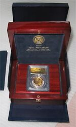 2009 Ultra High Relief $20 Dollars Gold Double Eagle Box and COA PCGS MS-70