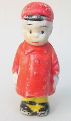 Herby From Smitty 1930's Comic Character Japanese Bisque Figure 2.5