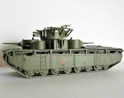1/72 T-35 Soviet tank WWII model DIE CAST 18 Eaglemoss