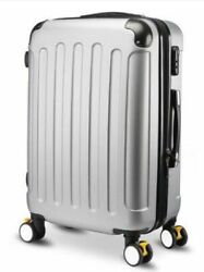 Unisex Travel Luggage Spinner Trolley Wheeled Rolling Boarding Suitcase 20 24