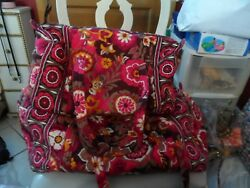 Vera Bradley Large And Small Duffel Bag Travel Set In Carnaby
