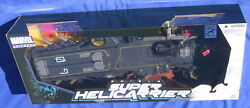 Marvel Shield Super Helicarrier 2012 Sdcc Excl Maria Hill 4 Figure Universe Mib