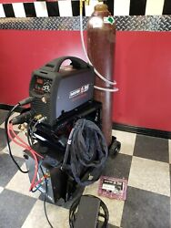 Tig Welding System- Watercooled Mister Tig Ac/dc 200-pro Free Cart