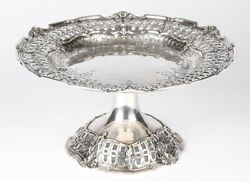 Vintage Reed And Barton Sterling Silver Repousse Compote