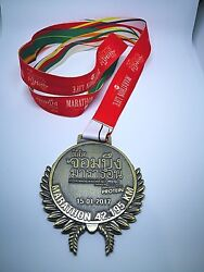 Thailand - Chom Bueng Marathon Since 1986 Finisher Medal - Collectible Item