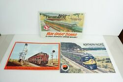 Aaa And Desperate Set Of 3 Diesel Tin Signs Rock Island Northern Pacific And Gn W10