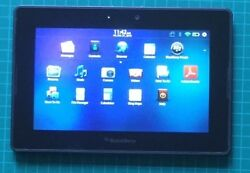 Blackberry Playbook Tablet 7 Inch Touch Screen 32 Gb 1 Gb Memory Black