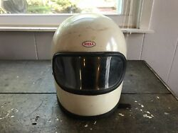 1968 Vintage Bell Star Helmet Full Face Indy Car Race F1 Motorcycle 7 12 Toptex