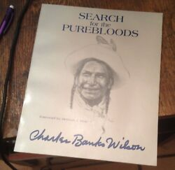 Search For The Purebloods Charles Banks Wilson Signed 2nd Edition Rare Art