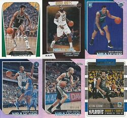 2018-19 Panini Hoops Basketball Pick- Base Inserts Parallels Free Shipping