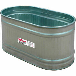 Galvanized Round End Tank (approx. 103 gal.) Lot of 1
