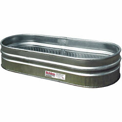 Galvanized Round End Sheep Tank (approx. 70 gal.) Lot of 1