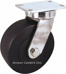 330nx06528s 6 Albion Kingpinless Stainless Steel Swivel Caster 3000 Lb Capacity