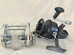 Vintage Garcia Mitchell 303 And 624 Fishing Reel Saltwater Made In France