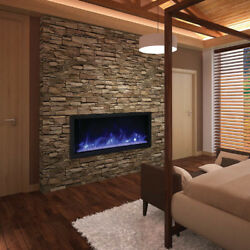 Amantii Bi-50-deep-xt Andndash 50andprime Wide And 18 Tall Electric Fireplace