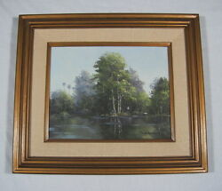 Original Florida Everglades Oil On Canvas Painting By Dorothy Starbuck