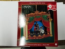 1999 - Carlton Ornament - The Phantom Of The Opera - 1st In The Broadway Series
