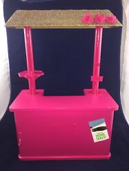 American Girl Kanani Pink Shave Shaved Ice Stand Tlc