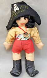 Rare 1939 Ggie Pirate Doll By Adoree Berry W/tag Golden Gate Int'l Expo Fair